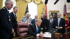 美总统将维护太空优势作为大国博弈手段