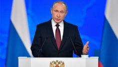 普京发表国情咨文  指责俄只是美退约借口