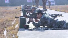 江西抚州:群众性练兵比武强化军事技能