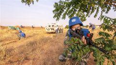 维和部队开展应急处突演练 提升全天候安全防卫能力