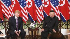"""第二次""""金特会"""":特朗普看好无核化谈判 金正恩称将尽力而为"""