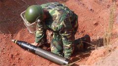 刚果(金):我维和工兵分队销毁报废弹药