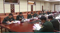 政协军队特邀委员分组审议政协常务委员会工作报告