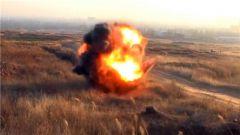 驻训场惊现未爆弹 排爆过程突发意外