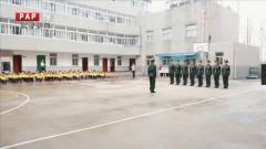 安徽总队:组织学生进军营参观体验