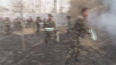 新疆总队:官兵紧急扑救居民区大火