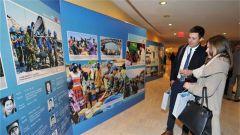 """""""维护世界和平的中国军队""""主题展览在非盟总部开幕"""