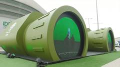 阿布扎比防務展的小紀念館:造型獨特 內藏玄機