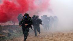 广西崇左:武警特战队员砺剑南疆深山密林