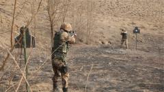 战友与靶仅距10厘米 信任射击难度陡升