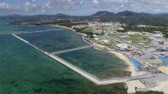 美军普天间基地迁建 日本冲绳县知事要求暂停基地搬迁施工