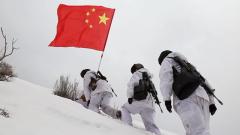 【第一军视】冰封千里 他们是雪野中最美的守望者