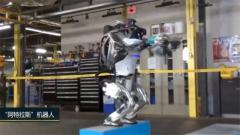 """可后空翻能""""三连跳"""" 会""""跑酷""""的机器人来了"""