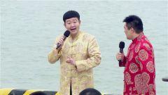 两位相声演员慰问演出 在场官兵笑得前仰后合
