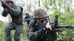 直擊演訓場 | 看武警官兵如何錘煉特戰技能