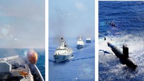 【军视界】献礼海军纪念日 更换手机壁纸可以提上日程了