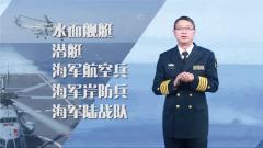 论兵·人民海军70周年:3分钟快速get知识点——细数海军五大兵种