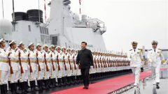 《军事报道》20190423习近平出席庆祝人民海军成立70周年海上阅兵活动