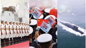 【軍視界】要換壁紙嗎?海上閱兵的高清大圖來啦