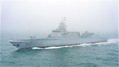 國防部:055型導彈驅逐艦首艦南昌艦即將入列