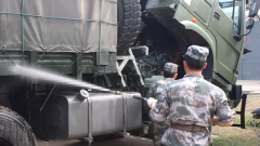 军视Vlog|红旗车驾驶员带你去看看军营里的车辆保养