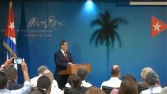 關注委內瑞拉局勢 古巴外長:古巴在委內瑞拉沒有軍隊