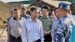 退役軍人事務部副部長錢鋒到福建調研雙擁工作