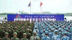 """""""蓝色突击-2019""""中泰海军联合训练开幕"""