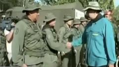 关注委内瑞拉局势 马杜罗视察军事训练基地