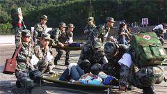 救治單元挺進衛勤保障戰場