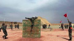 """新疆喀什军分区组织""""创破纪录""""比武竞赛"""