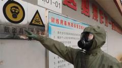 記者全副武裝仍被拒之門外 化學毒劑取用要小心