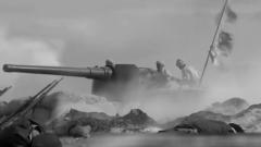 抗日戰爭日軍入侵海南島 老兵勇與日本軍艦展開炮戰