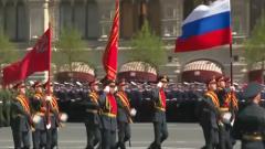 俄舉行勝利日閱兵式總彩排