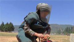 女排雷作业手首次亮相第18批赴黎巴嫩维和部队