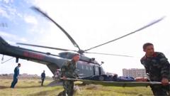 武警部隊專業力量合成化搶險救援演練