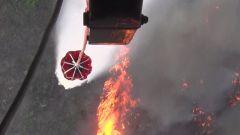锦州义县花尔楼村地区发生山火 陆航直升机紧急驰援