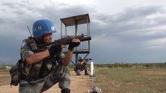 南蘇丹:我維和步兵多武器實彈射擊訓練