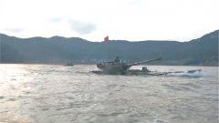 粵東沿海 兩棲裝甲泛水編波練協同