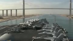 美国向中东部署更多军事力量