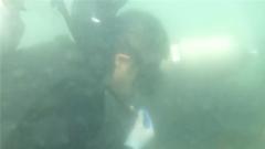 老兵都害怕 潜水员水下安全绳绞缠十分危险