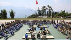 云南怒江驻军某部:携手中学共办主题教育活动
