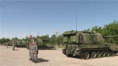 陆军第76集团军某炮兵旅组织指挥员连贯作业考核