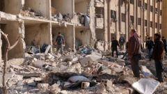 叙利亚反政府武装炮击阿勒颇 6人死亡