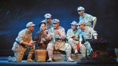 现代京剧《红军故事》为小学生专场演出