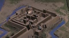 形似迷宫 机关密布 这个方形炮台的布局有点意思