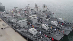 海军四艘国产第一代导弹驱逐舰光荣退役