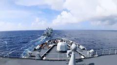 【聚焦实战化演兵场】海军第31批护航编队多课目实弹射击训练