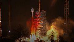 【独家视频】我国成功发射第四十五颗北斗导航卫星