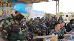 马里:中国两批维和部队完成任务交接
